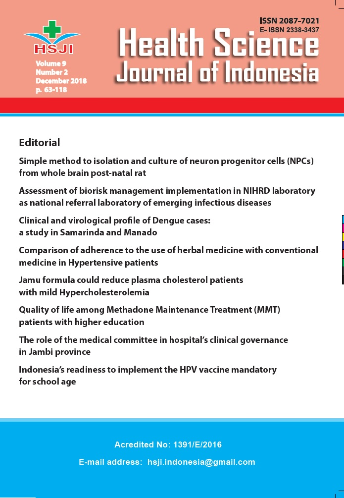 HSJI (Health Science Journal of Indonesia)